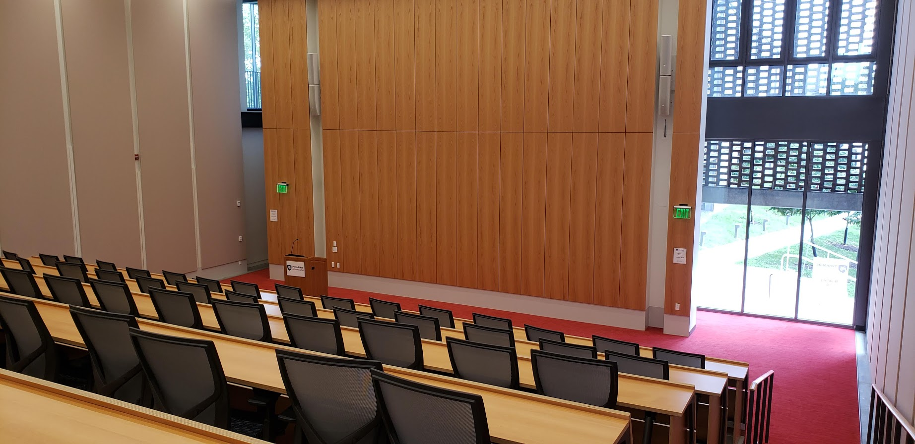 Auditorium in Building 7R